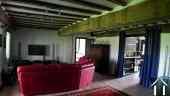 Séjour de 40 m2, appartement des propriétaires