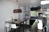 owners kitchen in duplex