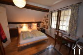 one of two bedrooms in main house