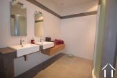 salle de douche dans la chambre maître