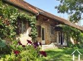 Maison de village, 3 chambres, jardin et vue