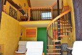 grange rénovée avec séjour et mezzanine