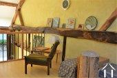 mezzanine dans la grange idéale pour artiste