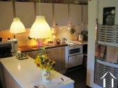 cuisine pratique pour servir à l'intérieur et l'extérieur