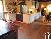 cuisine et salle à manger dans la maison