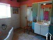 salle de bain, maison de ferme