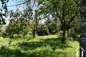 Jardin privatif avec étang