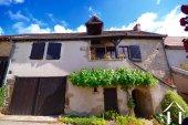Maison de village, 3 chambres et véranda
