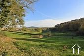 belle vue depuis la terrasse au sud