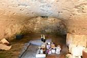 cave voûtée sous la cuisine