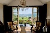 Maison de campagne de luxe avec magnifique vue