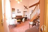Bureau avec escalier vers chambre 4 sous les toits