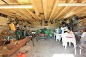 écurie de 40 m2 utilisée comme atelier