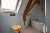 Salle de bain avec WC aux premier etage