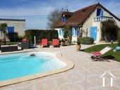 Maison rénovée avec piscine chauffée