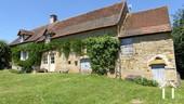 Maison en pierres avec belle vue, Sud Bourgogne