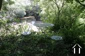 Jardin près de la rivière