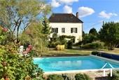 piscine 8x4 dans le jardin