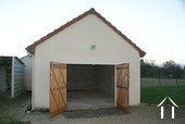 Garage in annexe building