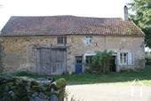 Maison en pierre & grange à rénover