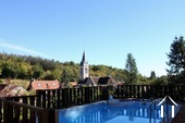 Charmante maison de village avec piscine et vue imprenable