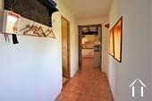 Couloir de la cuisine à la chambre et la salle d'eau