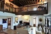 grand salon avec mezzanine