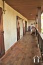 longue terrasse couverte coté ouest