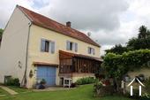 Charmante maison de caractère rénovée en Puisaye