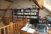 Upper floor library/office