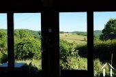 Facade de vitre offre une vue exceptionnelle