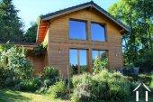 Maison d'ossature bois dans le Morvan - calme avec vue !