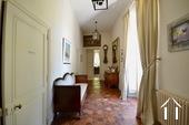 hallway to salon and bedroom ground floor