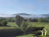 great views from garden, in view of Autun Cathedral