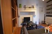 living area in small studio