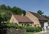 Charmante maison du XIXe et grange aménagée avec vue