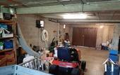 garage doors in basement