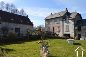 Moulin, maison de maitre et fermette sur 4 hectares